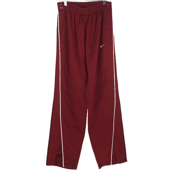Nike Other - Nike Team snap up warm up pants M EUC